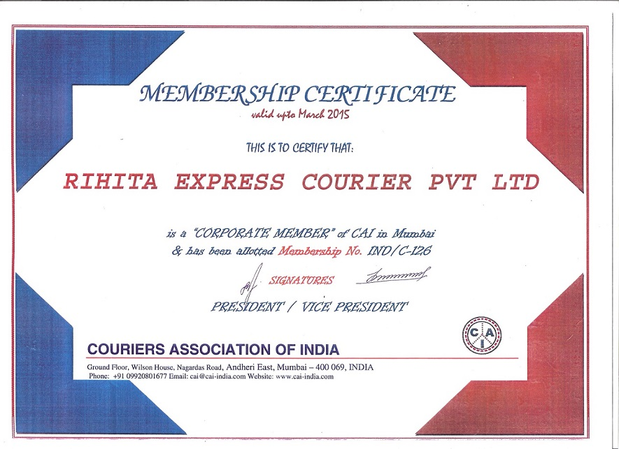 COURIER ASSOCIATION OF INDIA